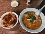 【岡山】デミカツ丼と栄養満点の中華そばが美味しい『広松』さん